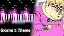 Giorno's Theme il vento d'oro JoJo's Bizarre Adventure Golden Wind OST Piano