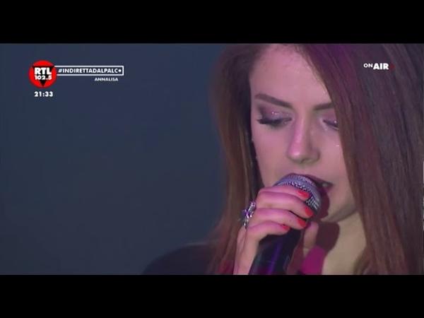 Annalisa live dall'Alcatraz di Milano