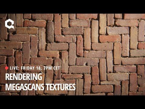 Rendering Megascans Textures