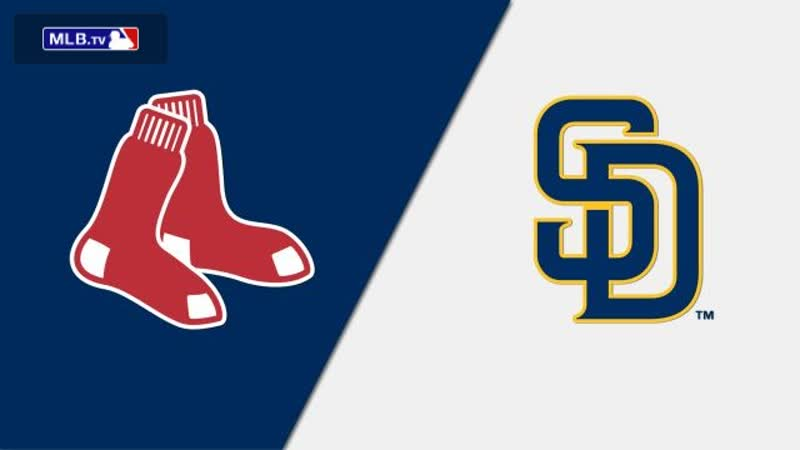 IL 25.08.2019 BOS Red Sox @ SD Padres 3 3