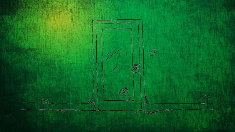 зелёный кот саймона