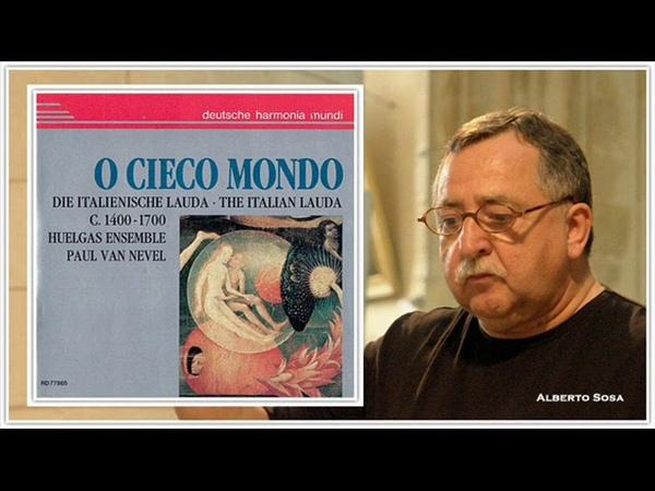 O Cieco Mondo The Italian Lauda C. 1400–1700