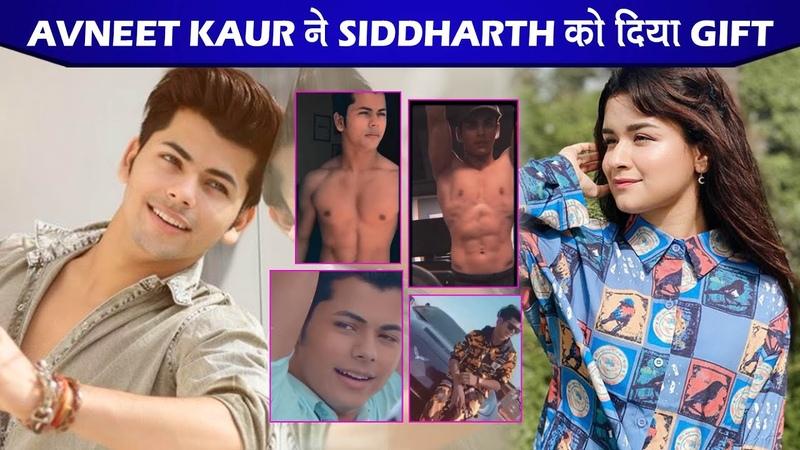 Aladdin Naam Toh Suna Hoga Fame Avneet Kaur GIFTED This Thing To Siddharth Nigam aka Aladdin|SidNeet