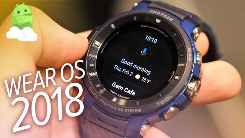 Casio WSD F30 Impressions New Wear OS 2018 Update Android Wear