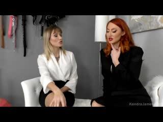 Kendra James and Reagan Lush - Sleeping Beauty [Footfetish, Lesbian]