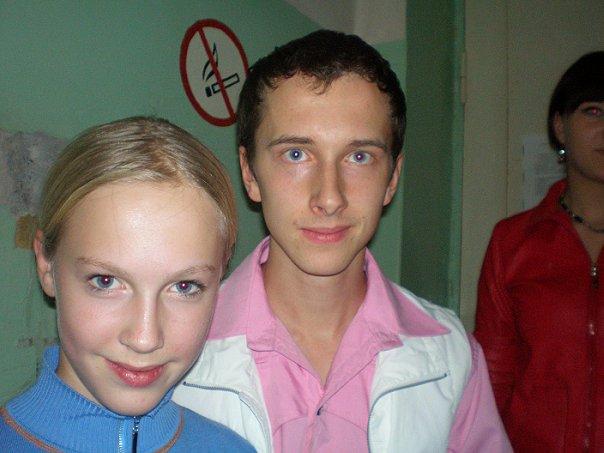Лерочкаъъъ Кудрявцева: здесь моя подруга алена с актером из фильма Кадеты/Кремлевские курсанты.
