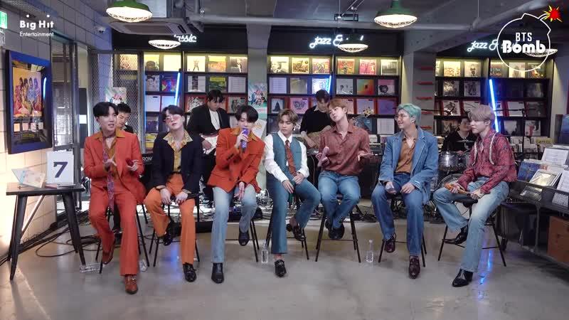 BTS 방탄소년단 Dynamite Stage CAM BTS focus @ NPR Tiny Desk Concert
