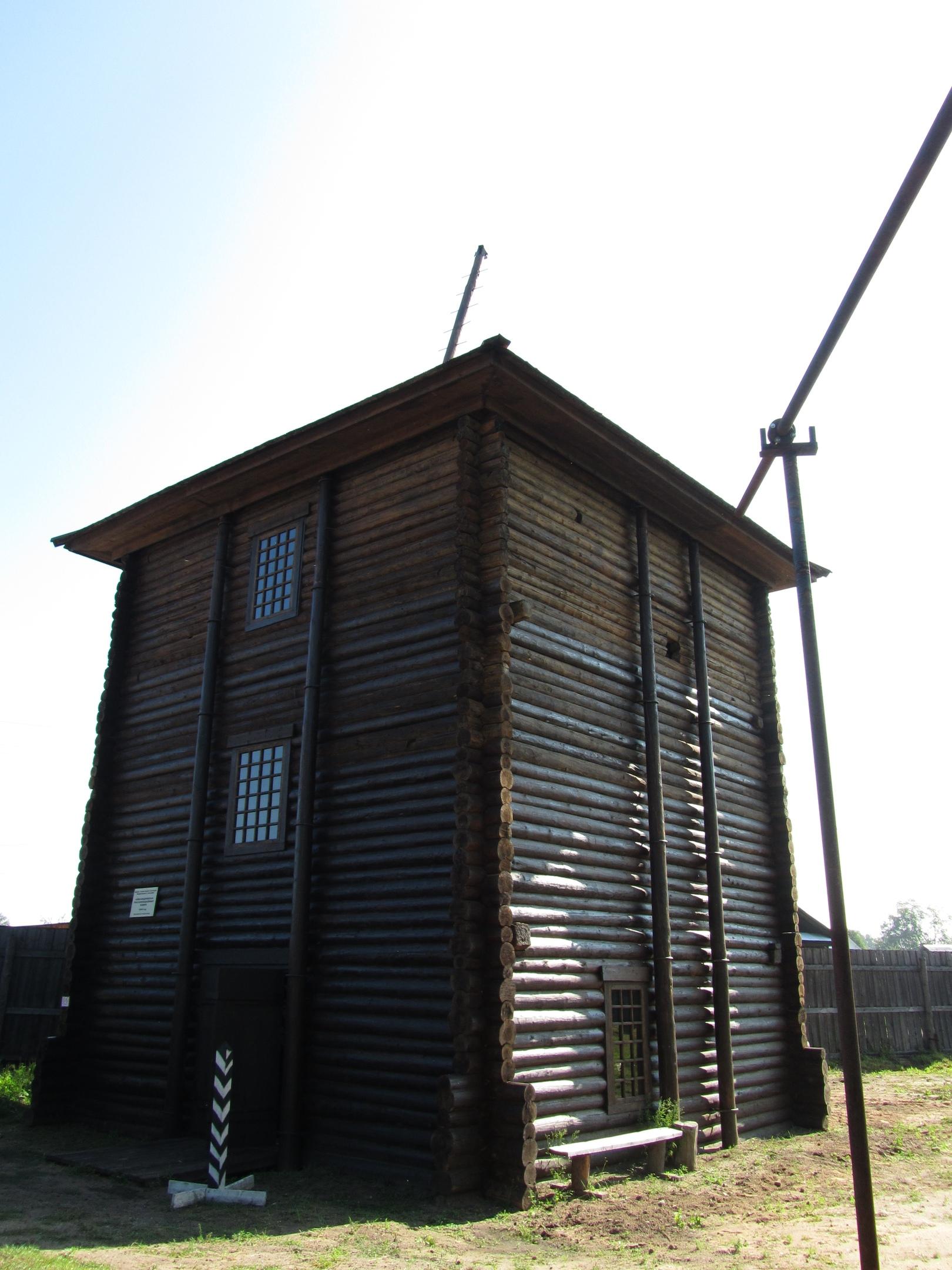 Рассолоподъёмная башня в Соликамске
