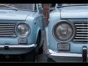 Фото различия ВАЗ 2101 седан и Fiat 124 berlina
