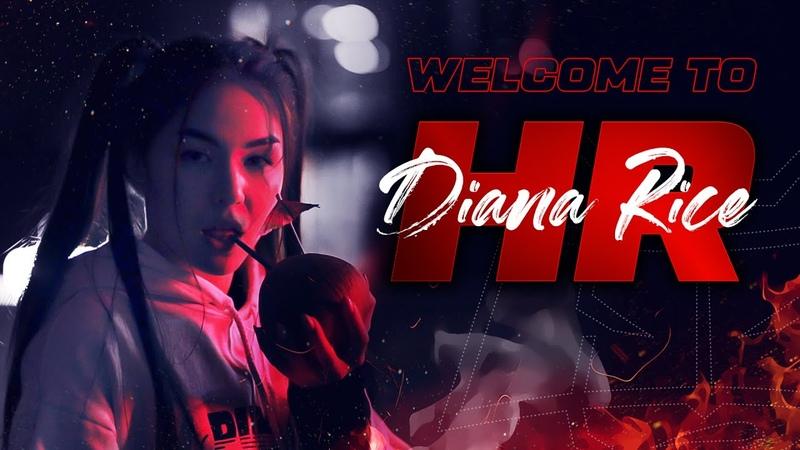 HR Diana Rice - свежая кровь в стане Восставших из Ада / HellRaisers, Dota 2, esports