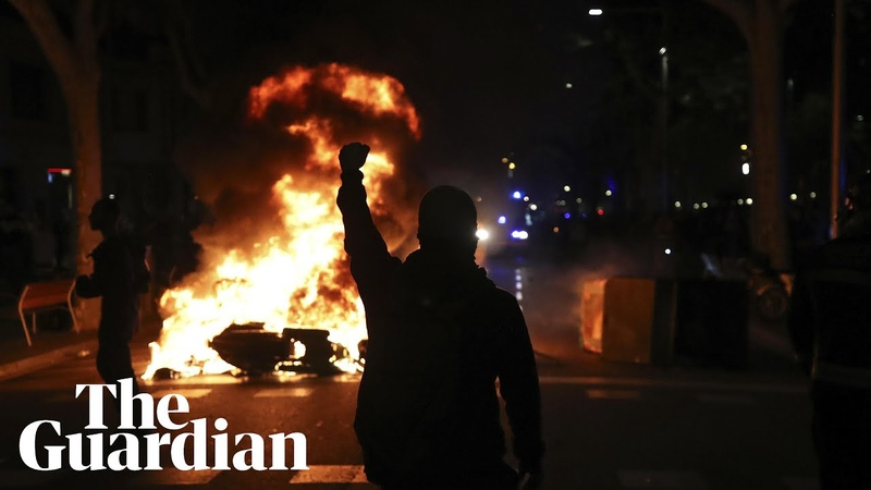 'It's barbarity' clashes in Barcelona after Catalan separatists sentenced