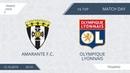 AFL19. France. Ligue 2. Day 16. Amarante F.C. - Olympique Lyonnais