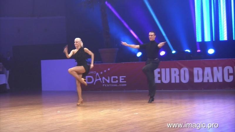 Artur Balandin Anna Salita Jive Euro Dance Festival 2018