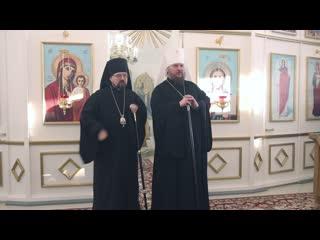 Слово митрополита Ферапонта в праздник Знаменской иконы Божией Матери