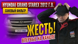 Hyundai Grand Starex 2012 г.в. Украли сажевый фильтр.