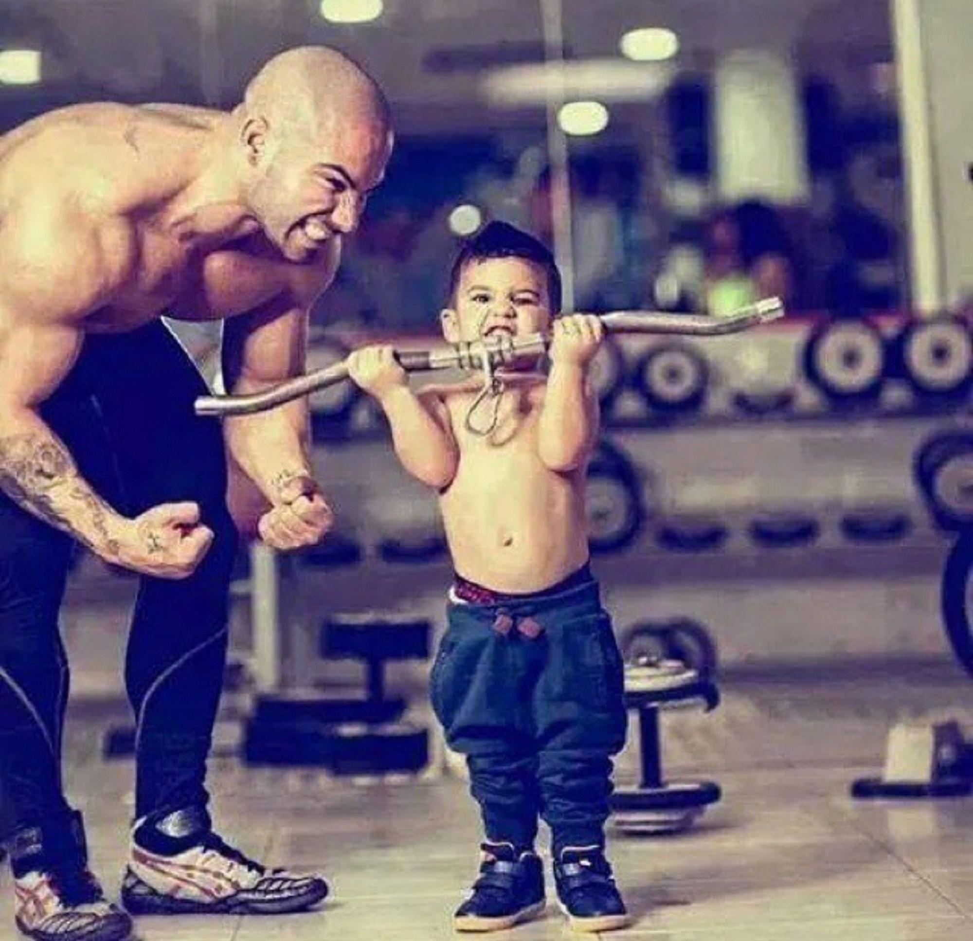 Будьте достойным примером для своего ребенка