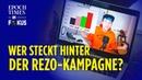 Jürgen Fritz bohrt tief Wer steckt hinter der Rezo Kampagne ET im Fokus