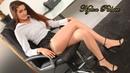 Beautiful Secretaries in Mini skirt, Stockings and High Heels Office Secretaries OUTFITS