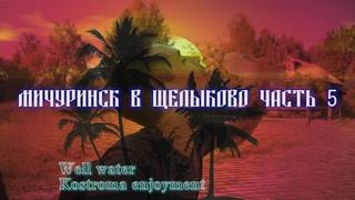 Мичуринский театр в Щелыково часть 5