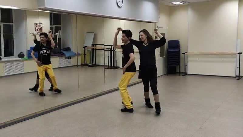 Карлос и Татьяна уроки в Salsa Viva