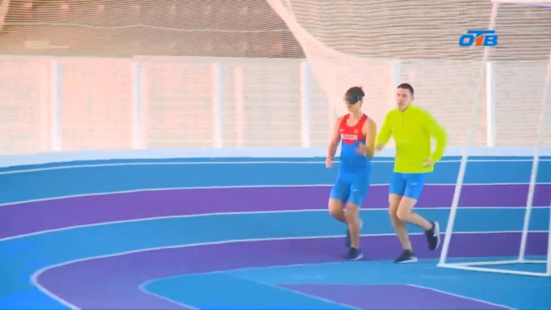Видео репортаж на первом областном канале Про Бегунов с ограниченными возможностями по зрению