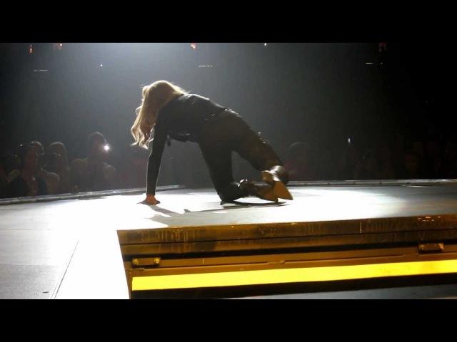 Madonna MDNA Papa Don't Preach Las Vegas 10 13 12