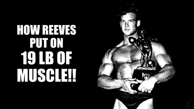 THE 10 x 12 ROUTINE!! HOW STEVE REEVES PUT ON 19 LB OF MUSCLE IN ONE MONTH FOR THE MR UNIVERSE!!