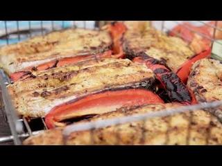 Сёмга на гриле быстро и вкусно / Полезный шашлык