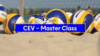 CEV Beach Volleyball Masterclass  | Stéphane Canet - Chapter 3 DEFENSE