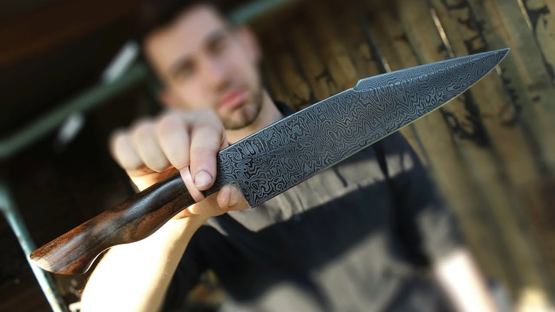 Damascus BBQ Chef knife - 3 day class with Bram