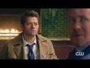 Демоны избивают Кастиэля. Бобби тренирует Джека.Сверхъестественное 14 сезон 1 серия.