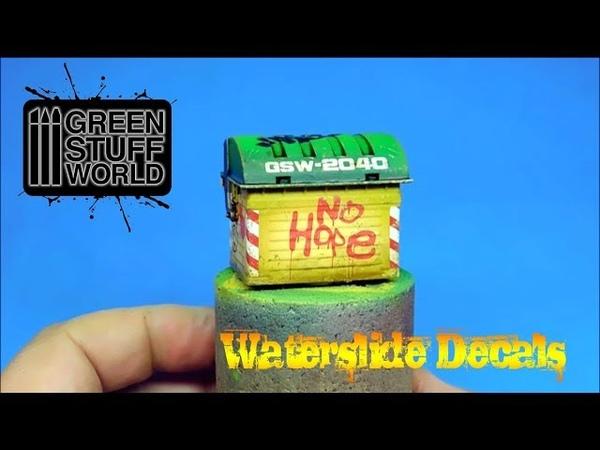 Creative Waterslide Decals