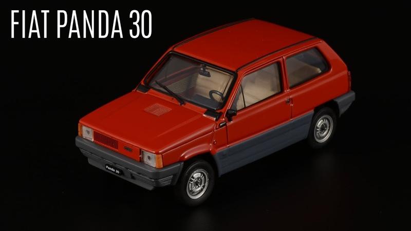 Восьмидесятые FIAT Panda 30 от Brumm Масштабные модели автомобилей Италии 1 43 Сделано в Италии