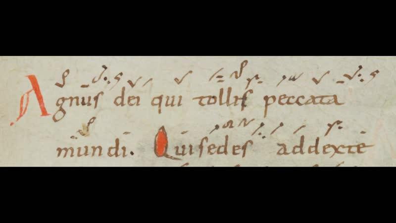 Agnus Dei, Qui sedes ad dexteram Patris