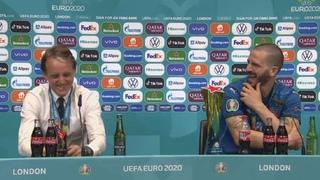 Слова БОНУЧЧИ и МАНЧИНИ после победы в финале ЕВРО-2020 | Италия 1:1 Англия (3:2 пен.)