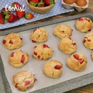 id_11895 Простое печенье с клубникой за 15 минут   Автор: Cookist  #gif@bon