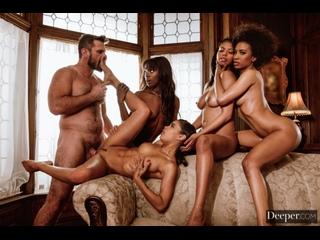 [Лента Пошлости] Demi Sutra, Ana Foxxx, Scarlit Scandal, Nia Nacci (Taste) (GROUP SEX/EBONY/BLACK/ORGASM/TEEN/AMATEUR/FULL/SEX)