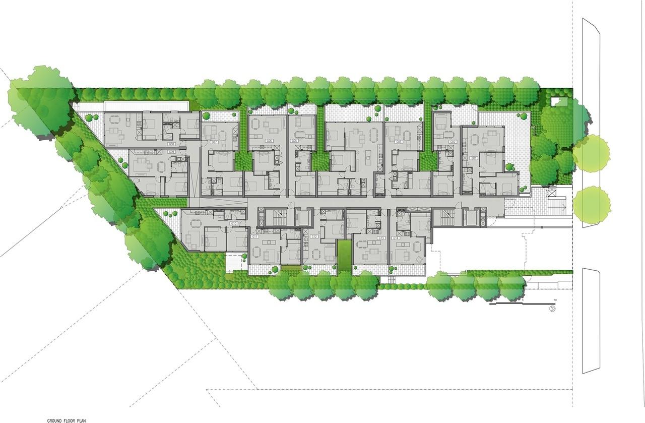 Cirqua Apartments / BKK Architects