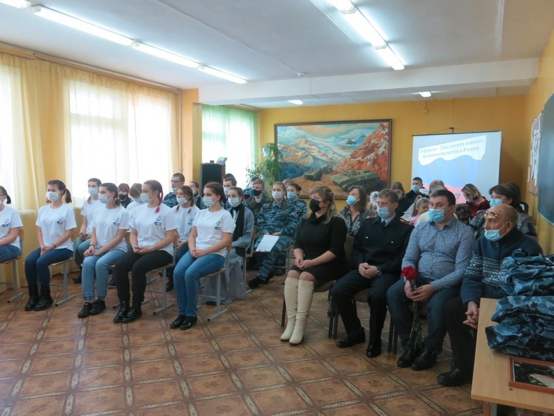 В Петровском филиале СГТУ прошло памятное мероприятие, посвящённое 32-й годовщине вывода советских войск из Афганистана