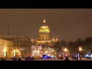 Питер. Ночной. Снежный.