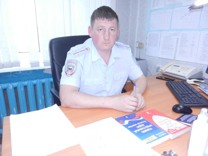 Старший лейтенант Д.В.Оленёв.