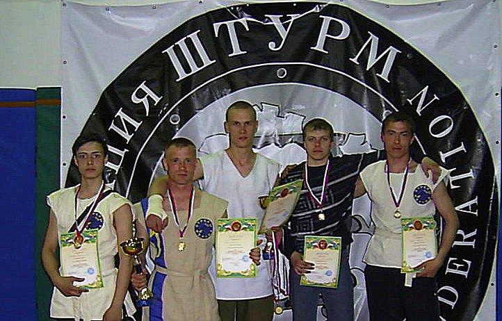 Чемпионат России по ШТУРМу, г. Любим, 2008
