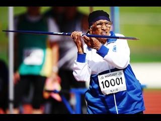 Man Kaur - 103 Year Old Running Athlete  103   Runner Athlete  NEWJ
