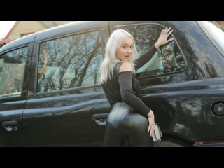 Marilyn Sugar - Girl In A Bag Left On Backseat (All Sex Porn Blowjob Blonde Facial Natural Tits Doggy POV Czech Amateur Taxi Car