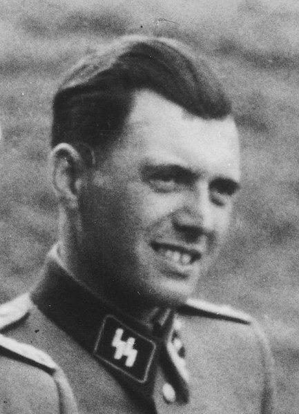 Josef Mengele al Campo di concentramento di Auschwitz nel 1944