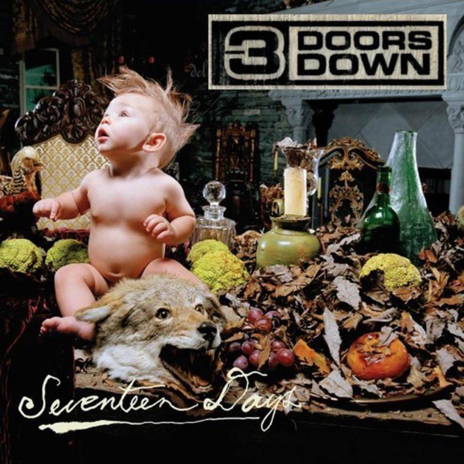 3 Doors Down album Seventeen Days (International Version)