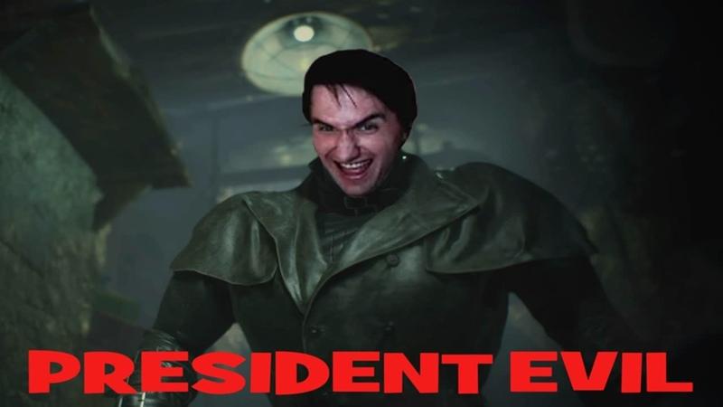 Юзя пытается поиграть в бету Resident Evil Re Verse