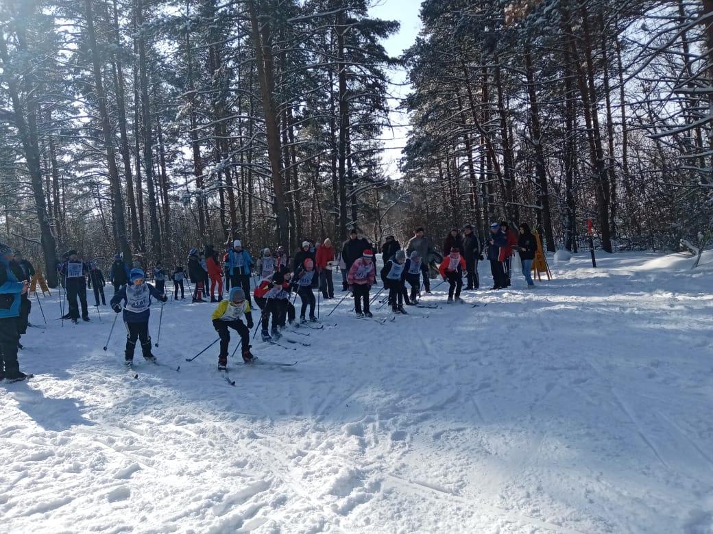 В Петровске состоялись соревнования по лыжным гонкам