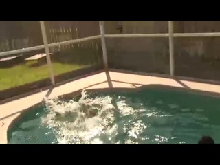 Pool Tickle Fight With Ashlynn Taylor Nikki Brooks