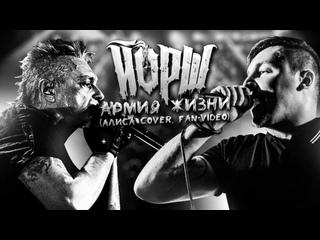 Йорш cover Алиса - Армия Жизни(fan-video)
